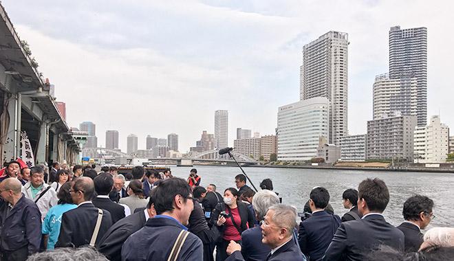 第62回東京築地魚市場「ふぐ供養祭」